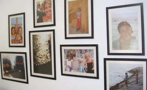 my fave photo wall 1