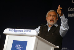Narendra Modi - India Economic Summit 2008