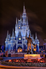 Disney - Partners With Castle Dream Lights Edit 2