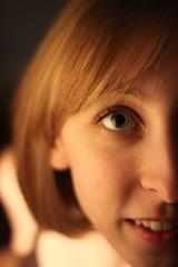 Golden eyes, blue hair... or is it the other way around? (jonnycrush) Tags: blue light portrait woman girl beautiful beauty smile female eyes pretty gallery teeth blueeyes lips blond soe goldenhair blondhair blueribbonwinner mywinners abigfave platinumphoto impressedbeauty citrit brillianteyejewel theperfectphotographer goldstaraward