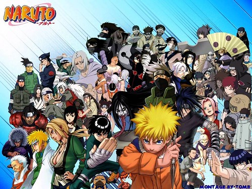 all naruto characters pictures. All Naruto Characters
