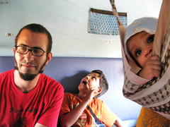 Todd and chaos on the train to Sawai Madhopur, India