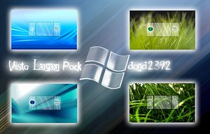 Vista Logon Screens (২৭টি জটিল ফাটাফাটি)
