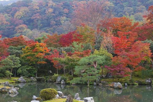 京都-嵐山-紅葉