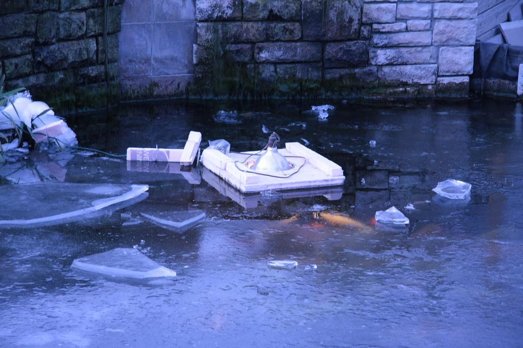 Home Made Pond De-Icer