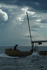 fishing near sulawesi indonesia image