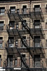 Fire escapes, NYC