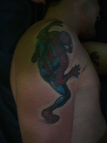 The Spiderman Tattoo Gallery1