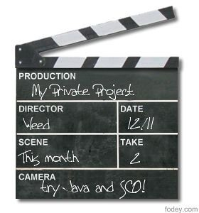 The Movie Clapper Board Generator - fodey.com - Create images and animations
