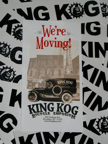 King Kog Brooklyn moving