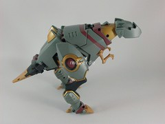 Transformers Grimlock Animated Voyager - modo alterno (by mdverde)