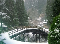 Bridge to Winter (Krista Roesinger) Tags: bridge winter friends snow december day sunday wintersolstice pacificnorthwest snowing fabulous soe shiningstar bothell ohhh winterwonderland chri