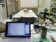 研究室の大掃除