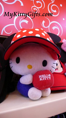 Hello Kitty in Mickey's Hat at Merlin's Treasures, Hong Kong Disneyland