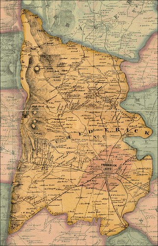 City of Frederick in 1858