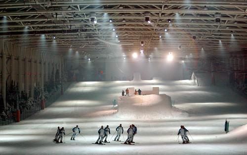 pista de esquí en Madrid Xanadú