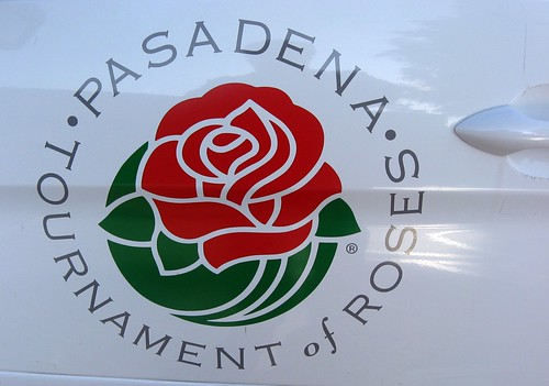 rose parade van