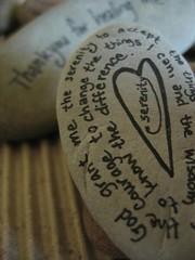 Serenity Prayer Stone