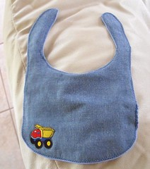 Sewing FO - Baby Boy Bib