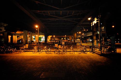 弁天町 A byke park