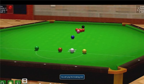SNOOKER Best Billiards Game Pool Android Xoom Tablet Pool Break Pro Review
