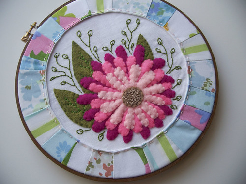 Spring Floral Embroidery
