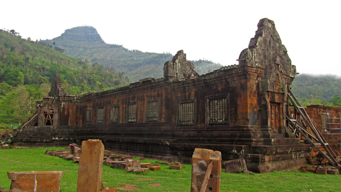 Wat Phou Temple in Laos