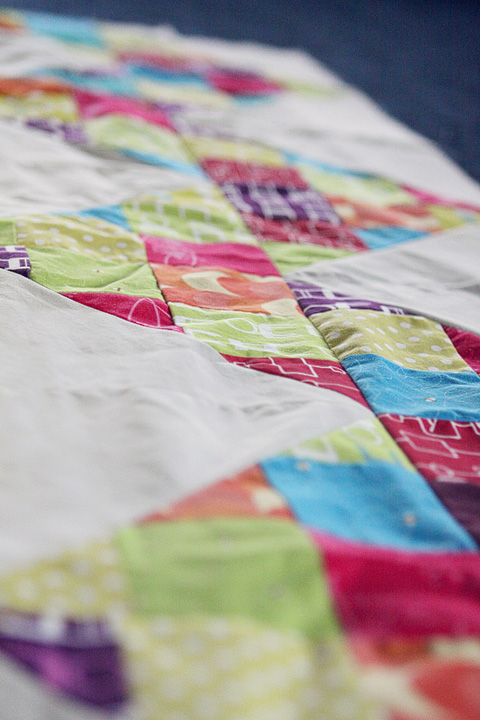 quilt grey and colors