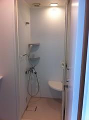 社屋内にあるシャワー室
