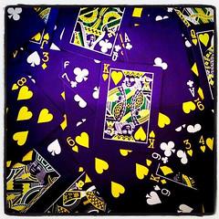 4-30-11 (mkrumm1023) Tags: bicycle cards poker