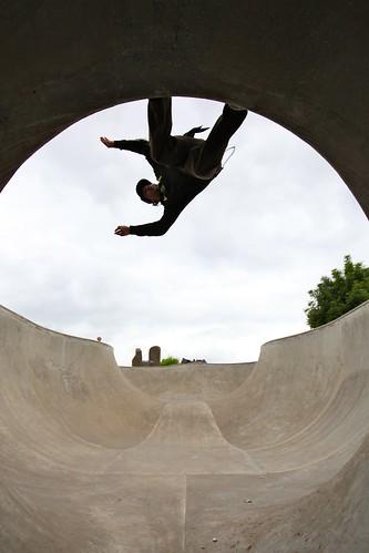 BOKA @ McMinnville, OR Skatepark by oldstarskates