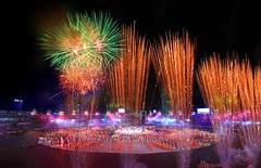 Fireworks (tushar photo) Tags: lighting travel light sky game beauty sport festival night concentration play display fireworks stadium events ceremony competition firework cricket celebration burning international destination opening nightview dhaka worldcup spark icc bangladesh magnificent inauguration imagery inaugural competing southasia thirdworld southasian subcontinent southasians iccworldcup