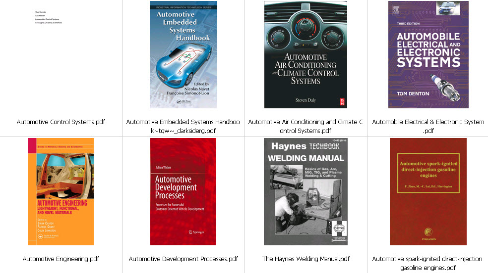 Car References eBook Collection | Free eBooks Download