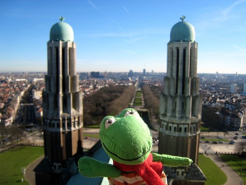 A view from the Basilica, Koekelberg, Brussels (B)