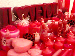 red Candles () Tags: girls light white love home beautiful night studio happy friend candles candle heart floating kerze gift romantic vela 2008 lys loved candela loveu bougie chandelle candlesticks kaars ljus cirio iloveu               eierenschouwen