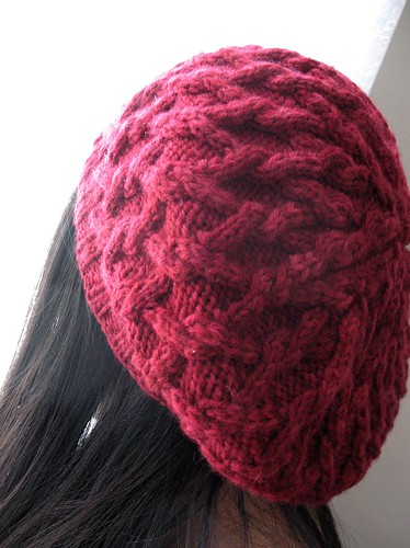 Project 10/365 - Red Gretel Beret