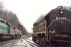 The Big Three (SymphonicPoet) Tags: railroad museum diesel stlouis missouri locomotive ge alco emd museumoftranspot