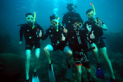 The Scuba-Diving All-Blacks