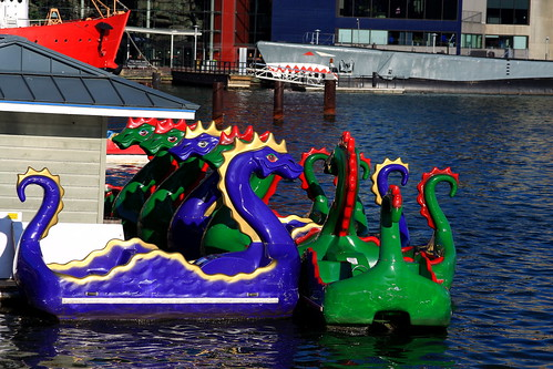 Inner Harbor - Colored Dragons