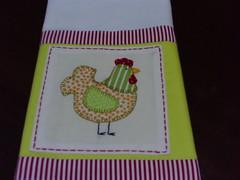 PANO DE PRATO COM APLICAO PPA 29 (Adoro Fazer) Tags: de pano decorao prato copa panos cozinha galinhas aplicao panosdeprato patchcolagem panosdecopa aplique
