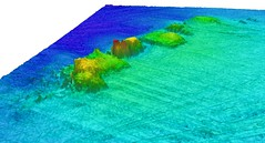 Multibeam sonar image - Concha 2