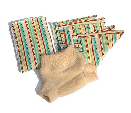 Fluff-A-Rump Cloth Diapering Set