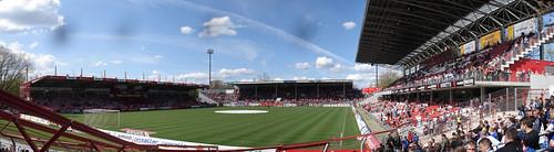 FC Energie Cottbus gegen FC Hansa Rostock