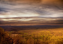Patterned (Nicholas_T) Tags: sky weather clouds landscape spring lowlight dusk hiking pennsylvania valley creativecommons poconos pleasantvalley appalachiantrail bluemountain appalachianmountains stratocumulus monroecounty kittatinnymountain