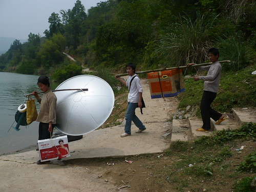 Getting Ready for Beijing 2008 - Baji Village - Guizhou, China