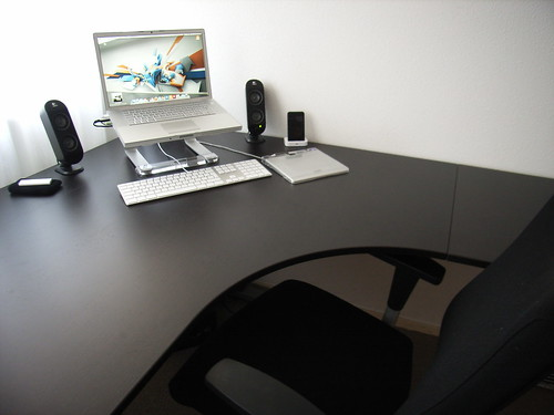 Ikea bureau zwart bruin: bol vidaxl design bureau bruin zwarte poten