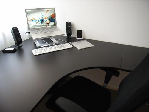 Nieuw bureau u peter hol
