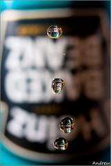 Beanz Meanz Heinz (andrewwdavies) Tags: food water project lens outside tin droplets beans dof flash bored indoor mini can falling explore shallow inverted raining heinz 57 legume baked varieties haricot offcamera canonspeedlite430ex explored phaseolusvulgaris canoneos40d andrewwilliamdavies beautifulworldchallenges canonefs60mmf28mmusm