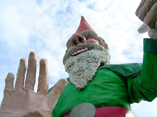 Nanoose Bay Giant Gnome