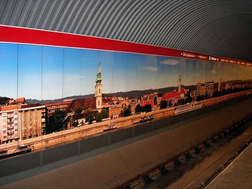 Subway art, Budapest 2